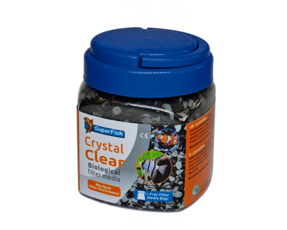 Crystal Clear Filtermedia - 500 ml | Aquarium Filtermedia