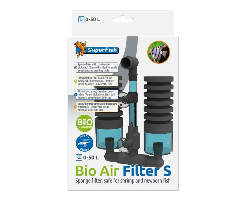 SuperFish Bio Air Filter S | Aquarium Biologische Spons Filter