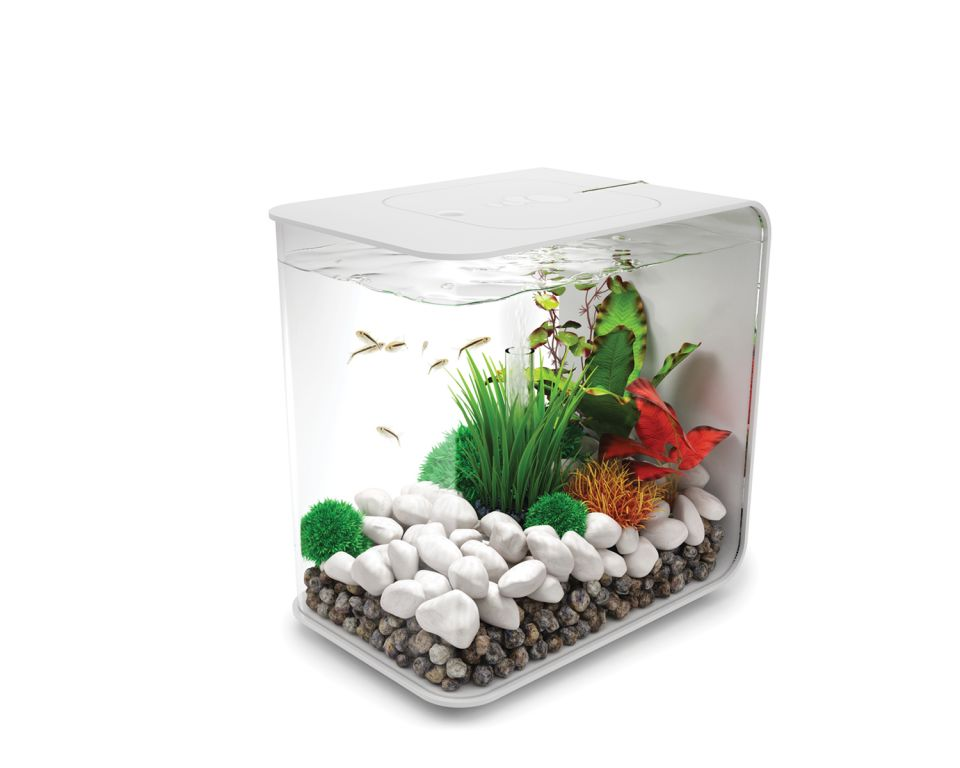 Aquarium biOrb flow LED 15 liter wit