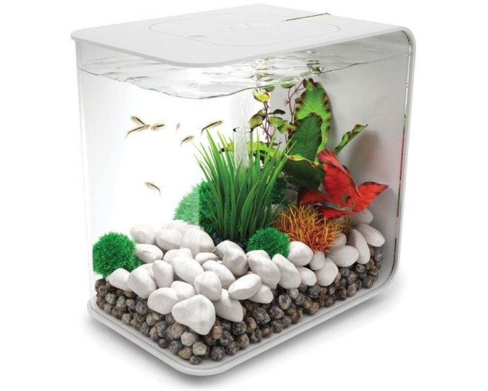 Aquarium biOrb flow LED 30 liter wit