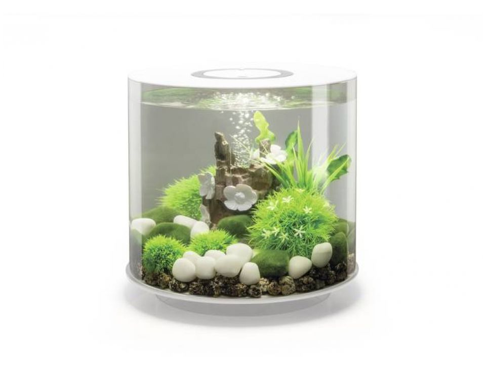 Aquarium biOrb tube LED 15 liter wit