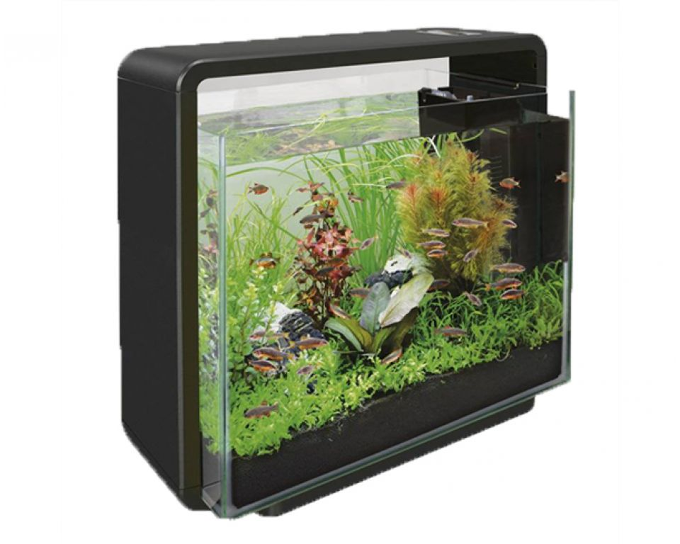 Superfish home 40 zwart - Aquarium webshop