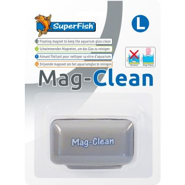 SuperFish Mag-Clean - L | Aquarium Raam Schoonmaken