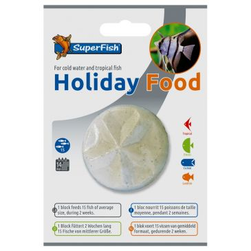 Holiday Food Voerblok | Aquarium Vakantievoer