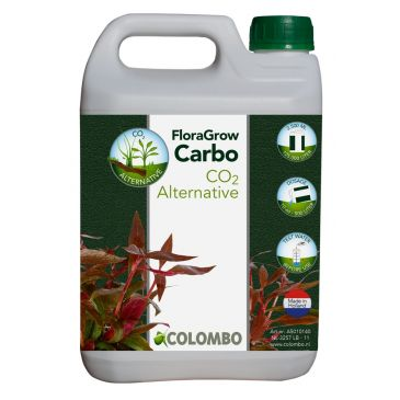 Colombo Flora Grow Carbo - 2500 ML | Aquarium CO2 Alternatief