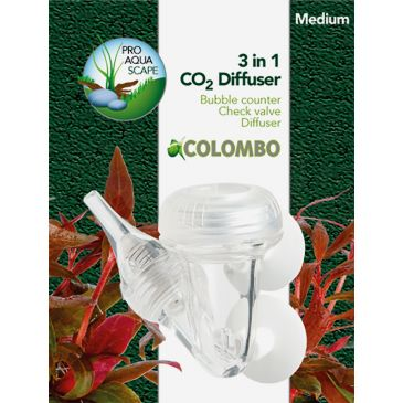 Colombo CO2 3-in-1 Diffuser - Medium | Aquarium CO2 Diffuser