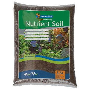 SuperFish Nutrient Soil 3.5 Liter | Aquarium Voedingsbodem