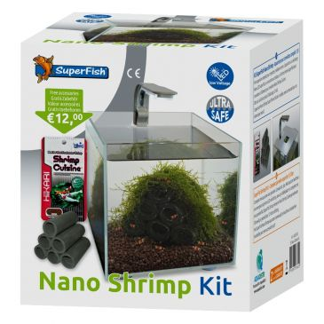 SuperFish Nano Shrimp Kit | Garnalen aquarium