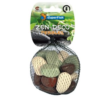 ZEN Pebble Mix - S | Aquarium Kiezelsteen Decoratie