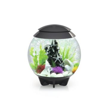 Aquarium biOrb halo led 30 liter moonlight grijs